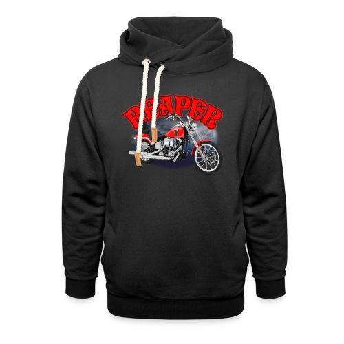Motorcycle Reaper - Shawl Collar Hoodie