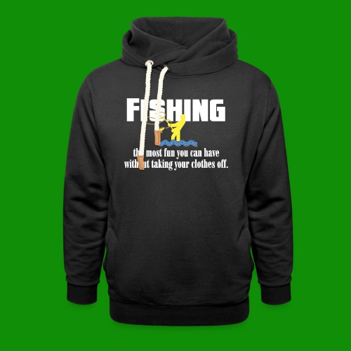 Fishing Fun - Unisex Shawl Collar Hoodie