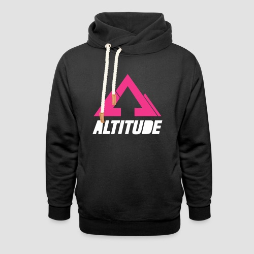 Empire Collection - Pink - Unisex Shawl Collar Hoodie