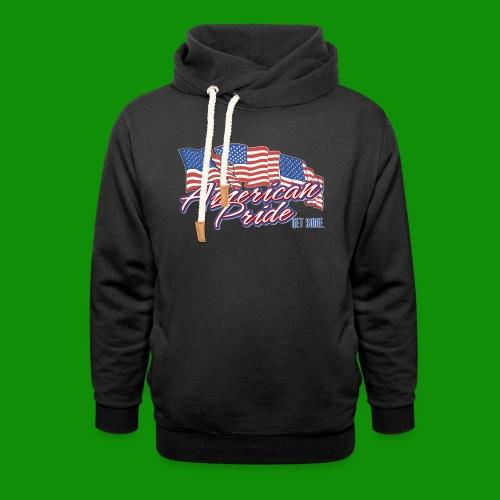 American Pride - Unisex Shawl Collar Hoodie