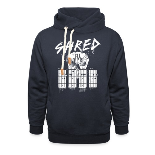 Shred 'til you're dead - Unisex Shawl Collar Hoodie