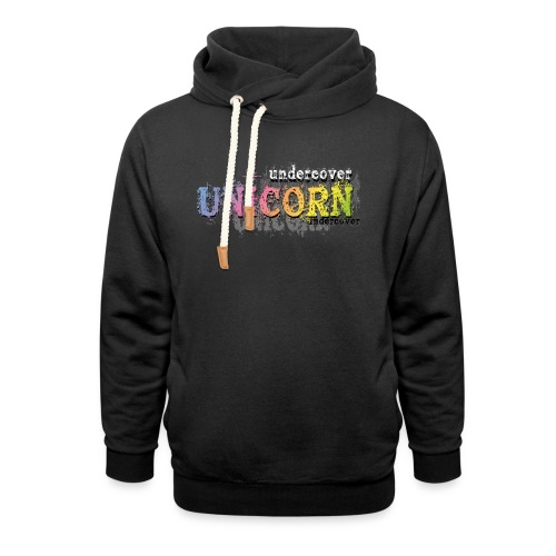 Undercover Unicorn - Shawl Collar Hoodie