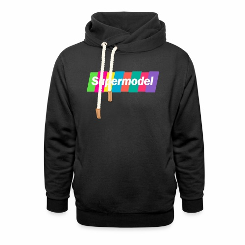 Supermodel Neon Colors - Shawl Collar Hoodie