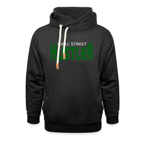 WAllStreet Hustler Green - Unisex Shawl Collar Hoodie