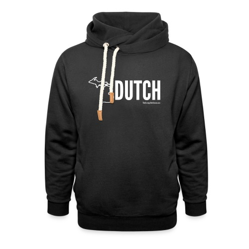 Michigan Dutch (white) - Unisex Shawl Collar Hoodie