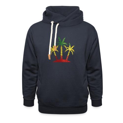 Palm Tree Reggae - Unisex Shawl Collar Hoodie