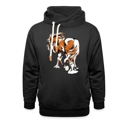 Paints and Paints.... - Unisex Shawl Collar Hoodie