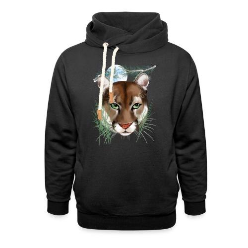 Midnight Puma - Shawl Collar Hoodie
