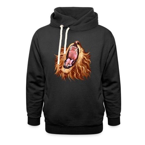 Lion's Face - Unisex Shawl Collar Hoodie
