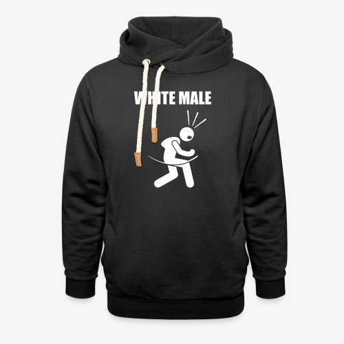White Male Yes - Unisex Shawl Collar Hoodie