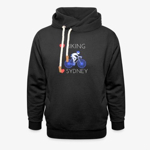 Love Biking Love Sydney tee shirts - Shawl Collar Hoodie