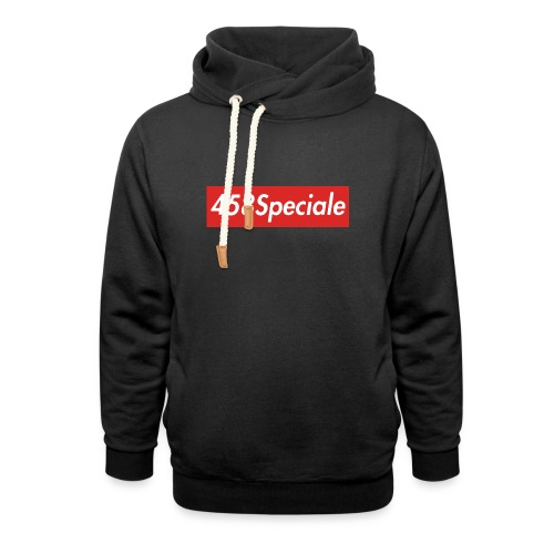 458speciale - Shawl Collar Hoodie