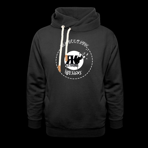 The World is My Garage - Unisex Shawl Collar Hoodie