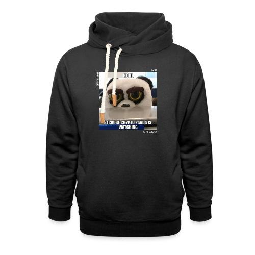 Crypto Panda Is Watching (Crypto Series) - Shawl Collar Hoodie