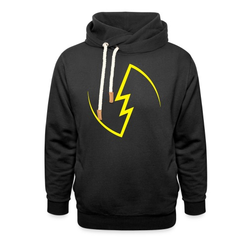 Electric Spark - Shawl Collar Hoodie