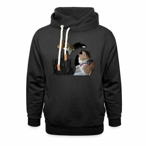 Cat Ladies of Michigan - Shawl Collar Hoodie