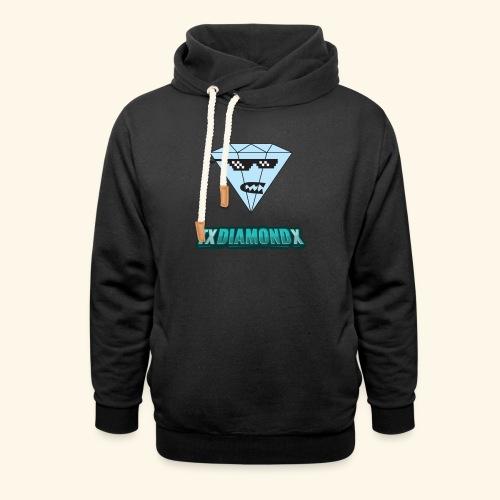 Txdiamondx Diamond Guy Logo - Shawl Collar Hoodie