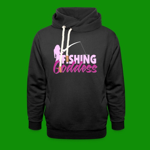 FISHING GODDESS - Unisex Shawl Collar Hoodie