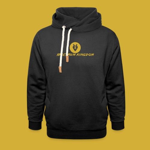 Spectrum Kingdom Gold Logo - Unisex Shawl Collar Hoodie