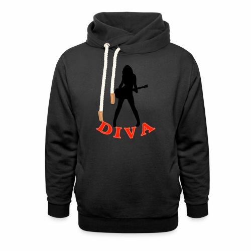 Rock Star Diva - Shawl Collar Hoodie