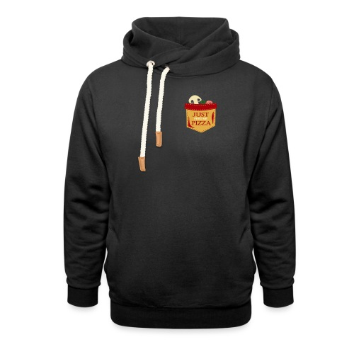 Just feed me pizza - Unisex Shawl Collar Hoodie