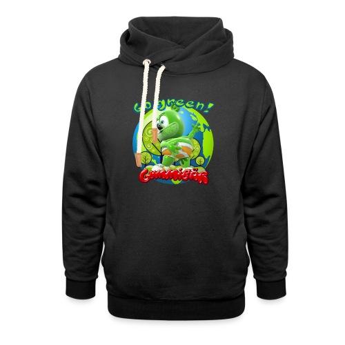 Gummibär Go Green Earth Day Earth - Shawl Collar Hoodie