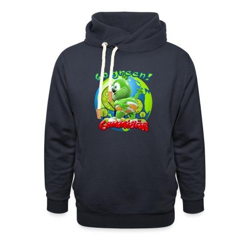 Gummibär Go Green Earth Day Earth - Unisex Shawl Collar Hoodie