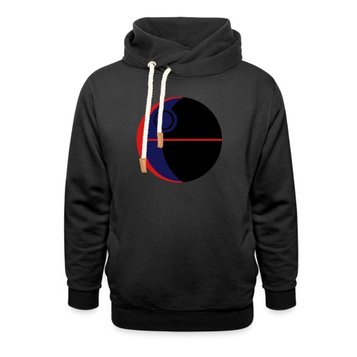 This Is Not A Moon - Shawl Collar Hoodie