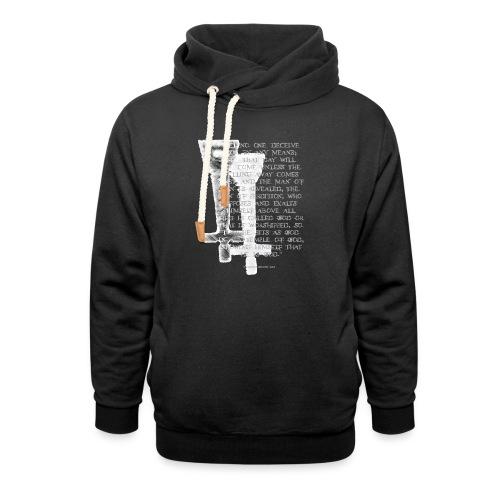 Antichrist design 1 - Unisex Shawl Collar Hoodie