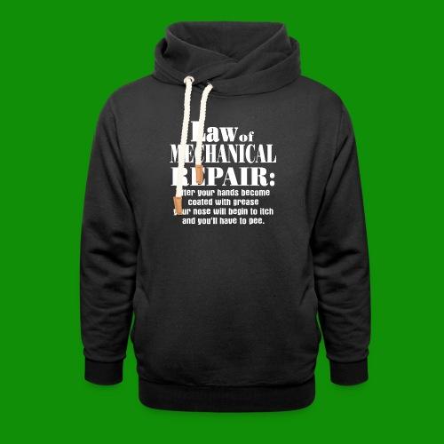 Law of Mechanical Repair - Unisex Shawl Collar Hoodie