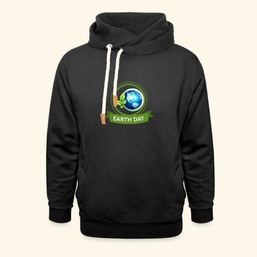 Happy Earth day - 3 - Unisex Shawl Collar Hoodie