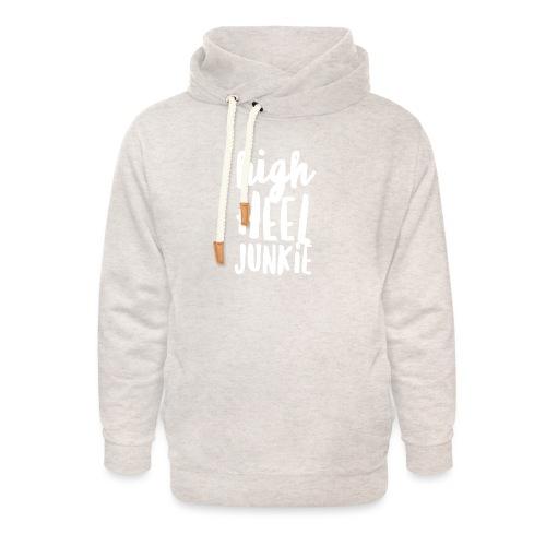 HHJ-White - Unisex Shawl Collar Hoodie