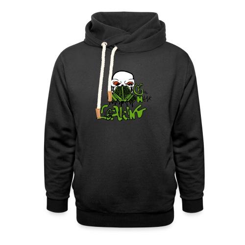 Leaking Gas Mask - Shawl Collar Hoodie