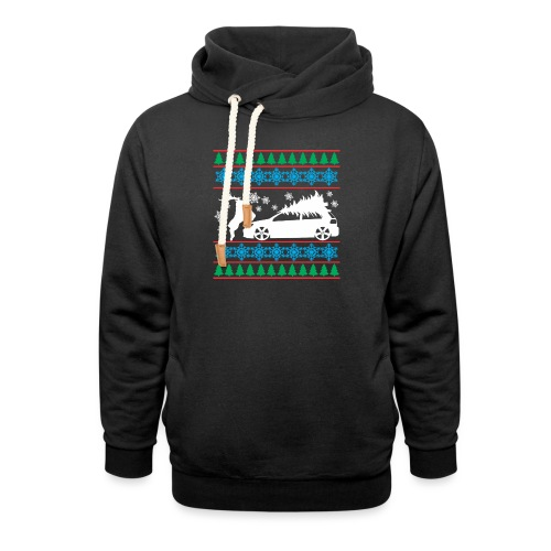 MK6 GTI Ugly Christmas Sweater - Shawl Collar Hoodie