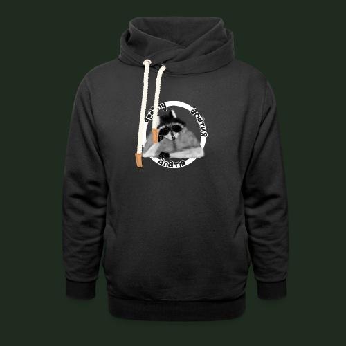 Apathy Raccoon - Unisex Shawl Collar Hoodie