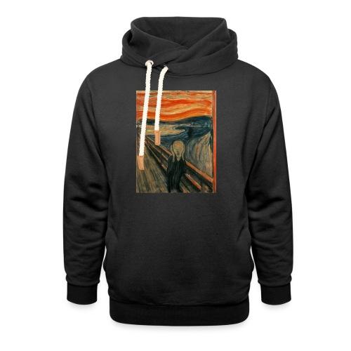 The Scream (Edvard Munch) - Shawl Collar Hoodie