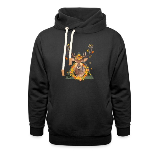 The Spirit of the Forest - Shawl Collar Hoodie