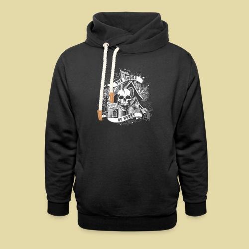 hoh_tshirt_skullhouse - Shawl Collar Hoodie
