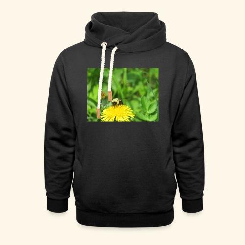 Dandelion Bee - Unisex Shawl Collar Hoodie