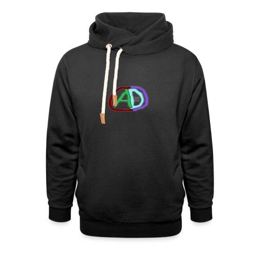 hoodies with anmol and daniel logo - Unisex Shawl Collar Hoodie