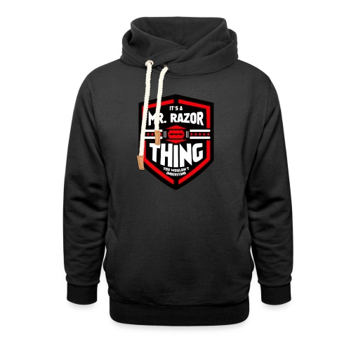 It's a Mr Razor Thing Trini - Shawl Collar Hoodie