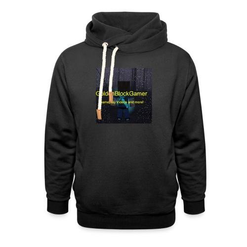 GoldenBlockGamer Tshirt - Shawl Collar Hoodie
