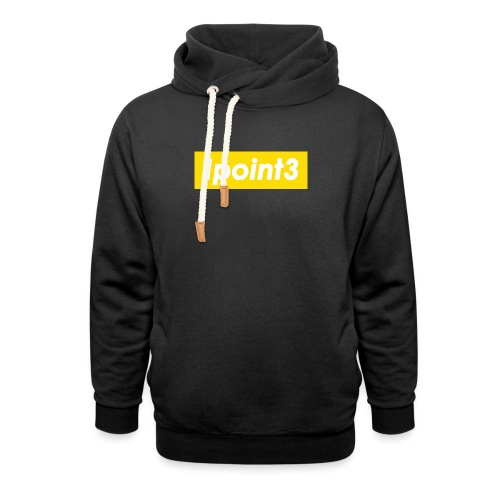 1point3 yellow - Unisex Shawl Collar Hoodie