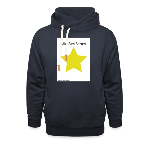 Hi I'm Ronald Seegers Collection-We Are Stars - Shawl Collar Hoodie