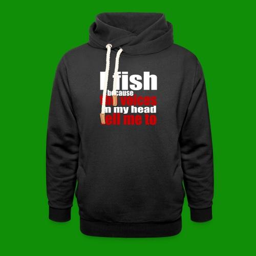 Fishing Voices - Unisex Shawl Collar Hoodie