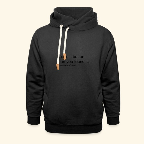 BP Leave in Better - Unisex Shawl Collar Hoodie