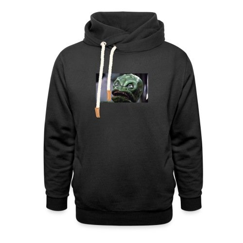 Lizard baby from Z - Shawl Collar Hoodie