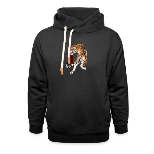 Beta12 / Japanese Tiger - Shawl Collar Hoodie