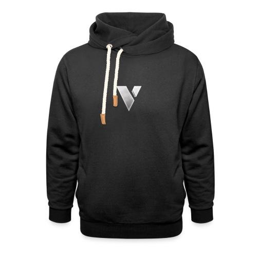 virtual merch logo - Shawl Collar Hoodie