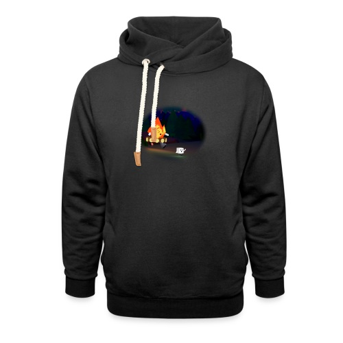 'Round the Campfire - Unisex Shawl Collar Hoodie